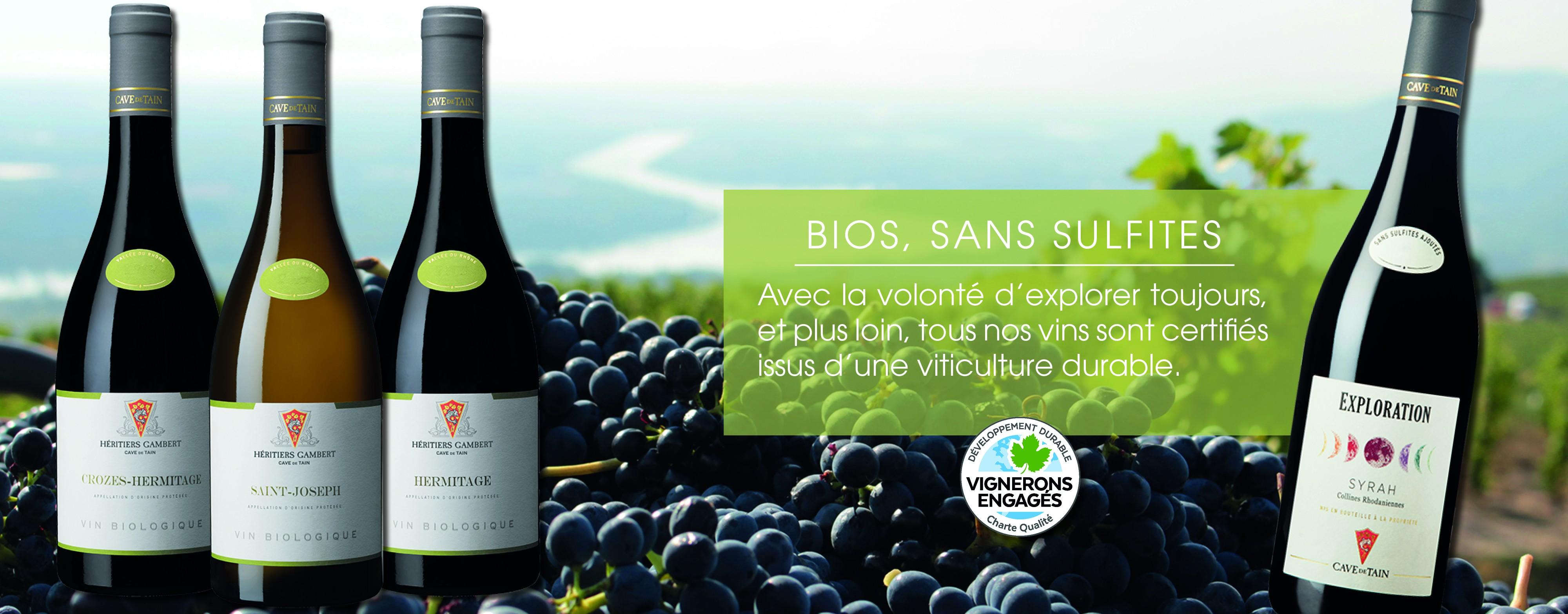 Bios, sans sulfites