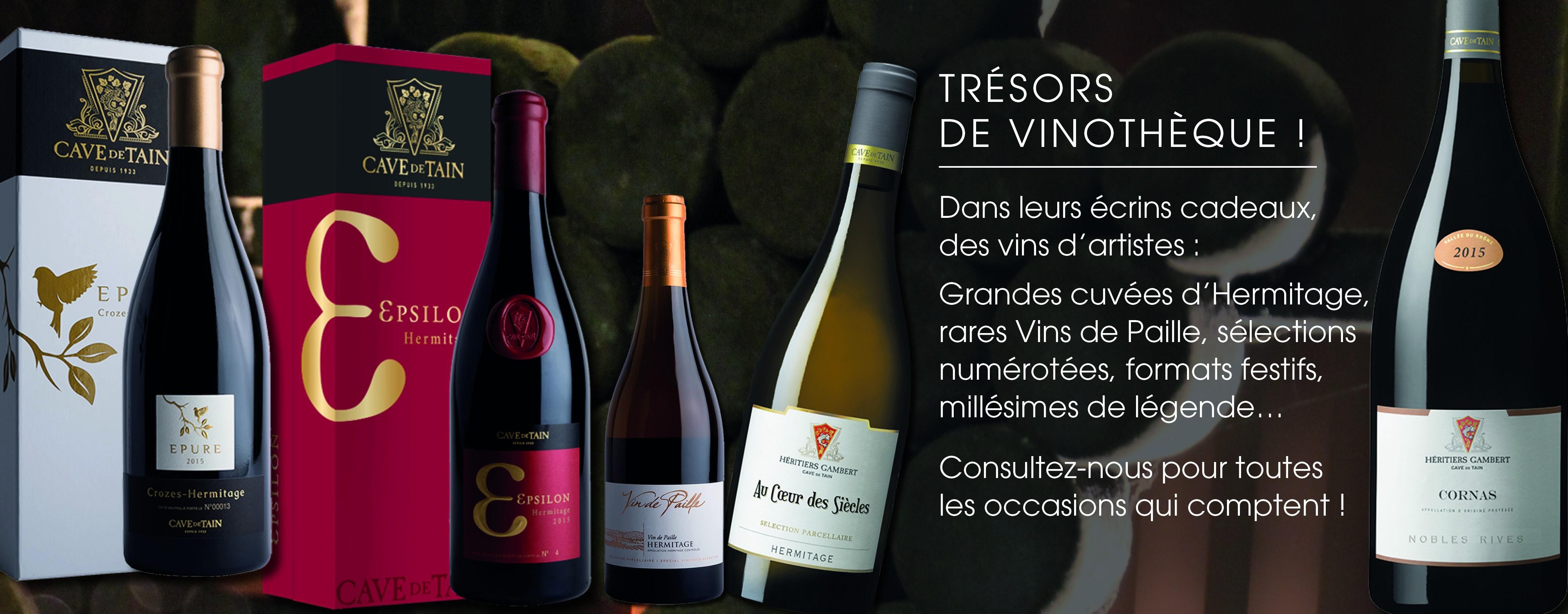 Trésors de vinotheque